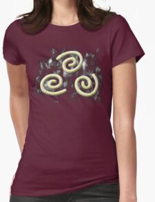 Marble Airbender Symbol Womens Fitted T-Shirt