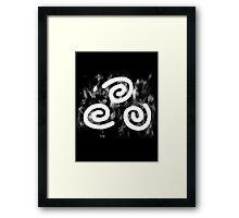 Airbender Symbol Framed Print