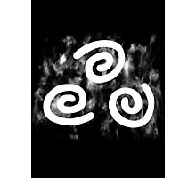 Airbender Symbol Photographic Print