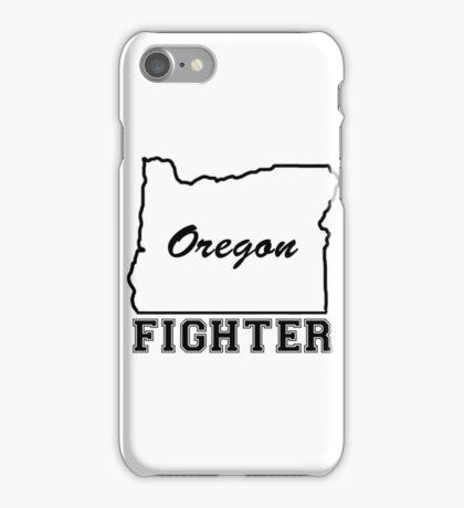 OREGON FIGHTER iPhone Case/Skin