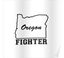 OREGON FIGHTER Poster