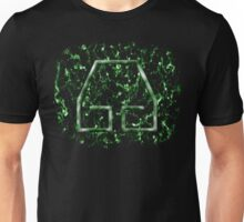 Marble Earthbending Symbol Unisex T-Shirt