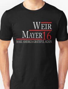 Weir Mayer 2016 Tees/Hoodies/Tanks Unisex T-Shirt
