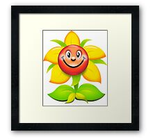 Funny game character superb colours Framed Print