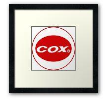 Cox vintage model engines USA Framed Print