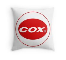 Cox vintage model engines USA Throw Pillow