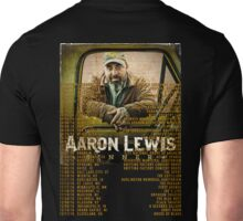 TOUR DATES 2016 FROM AARON LEWIS Unisex T-Shirt