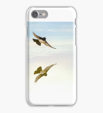 Wagtail Reflection iPhone Case/Skin
