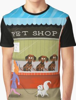Puppies For Sale Graphic T-Shirt
