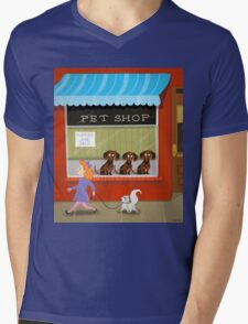 Puppies For Sale Mens V-Neck T-Shirt