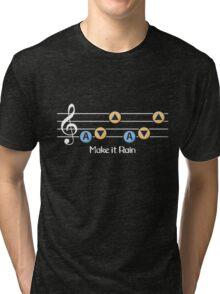 Make it rain - Zelda  Tri-blend T-Shirt