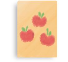 Watercolour Applejack Cutie Mark Canvas Print