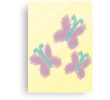 Watercolour Fluttershy Cutie Mark Canvas Print