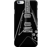 black glowstrings 6 iPhone Case/Skin