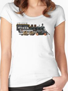 instrument train 2 Women's Fitted Scoop T-Shirt