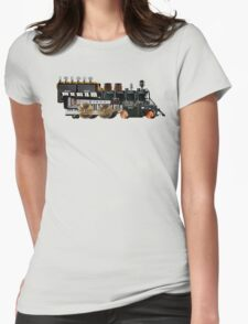 instrument train 2 Womens Fitted T-Shirt