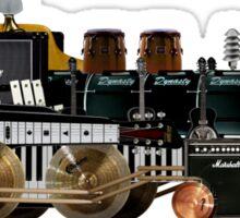 instrument train 2 Sticker