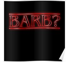Barb? Poster