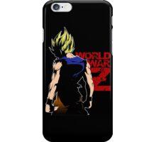 WORLD WAR Z - SON GOKU WAR iPhone Case/Skin