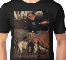 The Death Cart by Pieter Bruegel 1500s Unisex T-Shirt