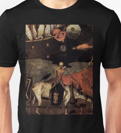 The Death Cart by Pieter Bruegel 1500s Unisex T-Shirt