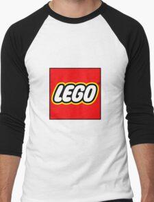 lego logo Men's Baseball ¾ T-Shirt