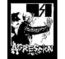 AGRESSION Photographic Print