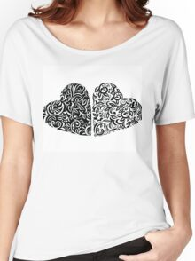 Couple of Hearts Women's Relaxed Fit T-Shirt