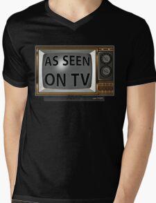 As Seen on TV Vintage  Funny Design  Mens V-Neck T-Shirt