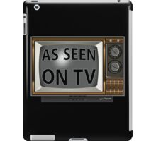As Seen on TV Vintage  Funny Design  iPad Case/Skin