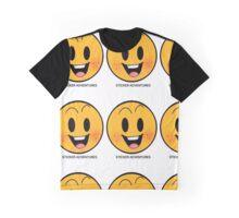 Sticker Adventures Graphic T-Shirt