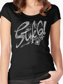 Voll Stufe 6! Women's Fitted Scoop T-Shirt