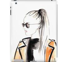 Top Ponytail Watercolour Illustration iPad Case/Skin