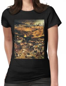 The Triumph of Death by Pieter Bruegel Womens Fitted T-Shirt
