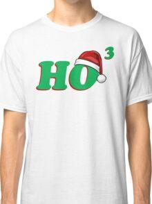 Ho 3 (Cubed) Christmas Humor Classic T-Shirt