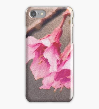Cherry Blossom Digital Painting iPhone Case/Skin