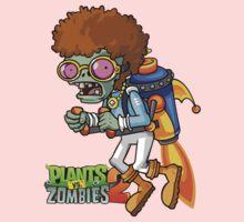 disco rocket zombie Kids Tee