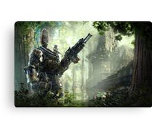 Titanfall Expedition Canvas Print