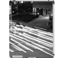 Black And White Cityscape 11 iPad Case/Skin