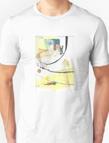 Summer Beach Abstract Cute Chill Painting Unisex T-Shirt