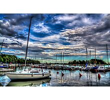 Helsinki Yachts Photographic Print