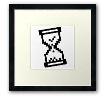 Loading Hourglass Framed Print