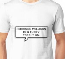 Hercules Mulligan is a Furry Unisex T-Shirt