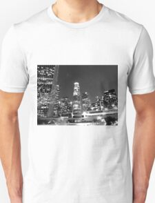 Black And White Cityscape 13  T-Shirt