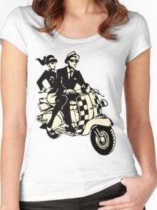 RUDE BOY SKA Women's Fitted Scoop T-Shirt