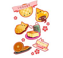 Japanese Sweets Photographic Print
