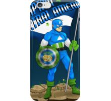 Captain Central America iPhone Case/Skin