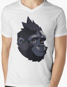 Baby Winston Mens V-Neck T-Shirt