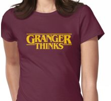 Granger Thinks! Womens Fitted T-Shirt