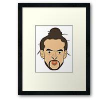 Noah the Bull. Framed Print